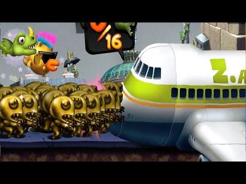 ZOMBIE TSUNAMI #66 Мультик игра для детей ПРО ЗОМБИ ЦУНАМИ #Мобильные игры