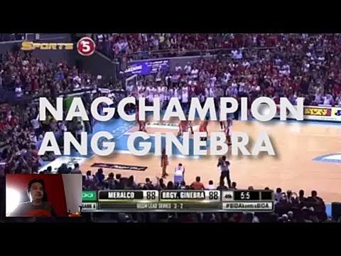 Nag Champion ang Ginebra Song