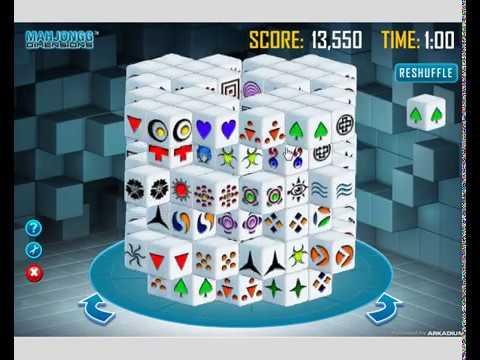 play mahjongg dimensions online