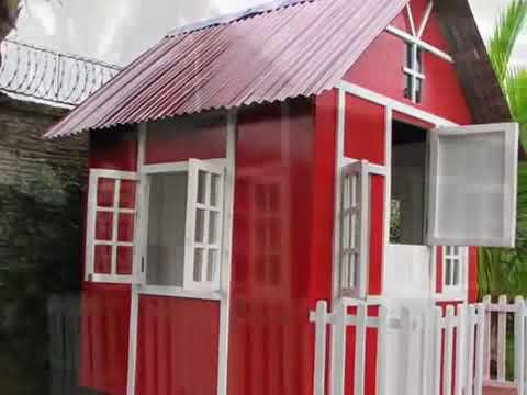 Casas para ni os de lolo morales youtube for Casas infantiles de madera para jardin