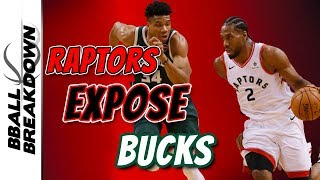 Raptors EXPOSE Bucks In Game 5