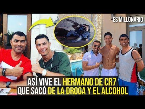 ASÍ CR7 SACÓ DE LA DROGA Y EL ALCOHOL A SU HERMANO HUGO AVEIRO