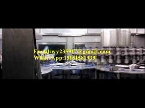 bottle pure water filling production line,pet bottle mineral water filling machine MP3