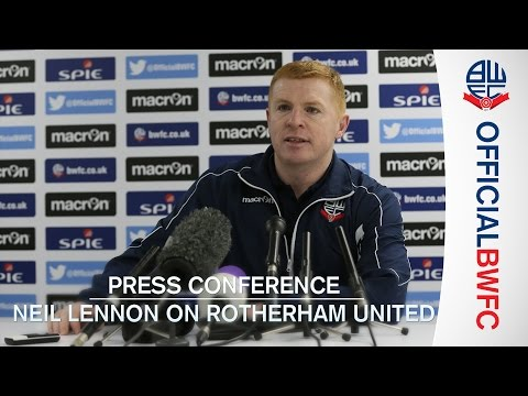 PRESS CONFERENCE | Neil Lennon on Rotherham United