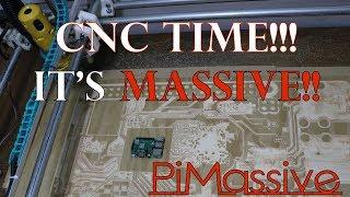 PiMassive Board getting cut on the MPCNC for the PiCasso Design Challenge