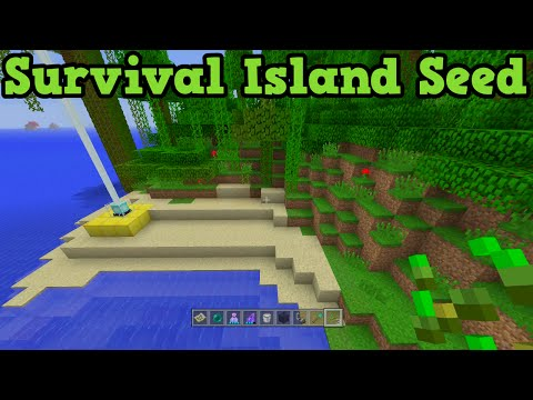 Minecraft Xbox 360 + PS3 Survival Island Seed - Challenge Jungle