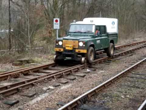 Road Rail Landrover Ardlui