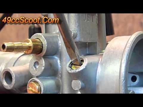 Two-Stroke Scooter / ATV Carburetor Settings And Adjustments 2of4 : Idle Speed & Mixture