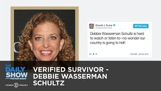 Verified Survivor - Debbie Wasserman Schultz: The Daily Show