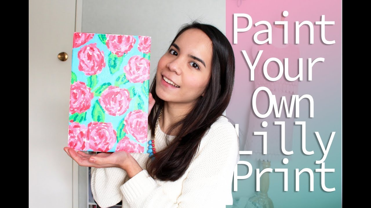 How to Paint Your Own Lilly