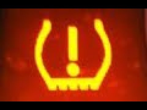 Resetting the Tire pressure loss system BMW. Flat tyre reset. Low pressure warning light