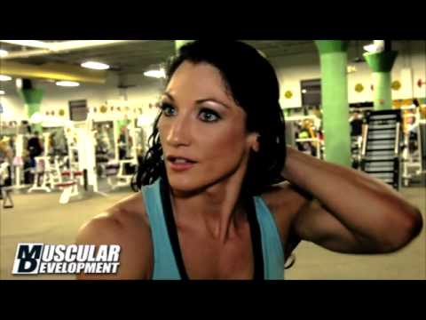 Candice Keene; 2013 Arnold Classic Teaser Muscular Development Magazine