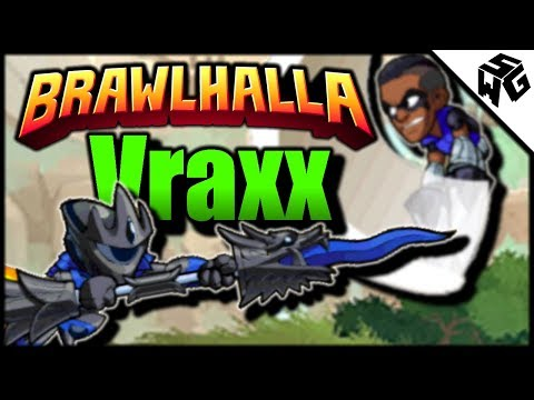 Road to Diamond Ranked Vraxx 1v1's- Brawlhalla Gameplay :: I Always Lose to Katars