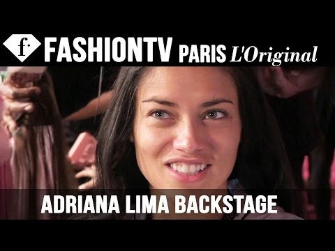 Adriana Lima Backstage Interview @ Victoria's Secret Fashion Show 2013 , Doutzen Kroes | FashionTV