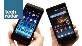 Sony Xperia Z vs BlackBerry Z10_ Comparison Review of Price, Specs and Features