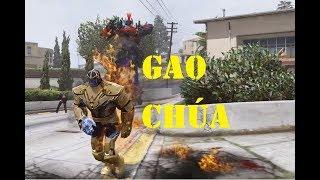 5 Anh em siêu nhân bị Gao RoBot tấn công và sự trở lại của Gao Chúa|GHTG