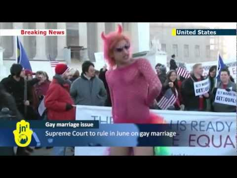 US Supreme Court takes up gay marriage ban