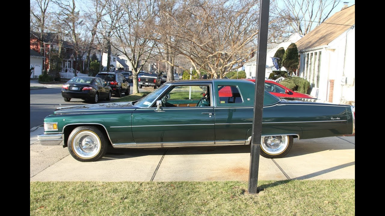 1976 Cadillac Coupe Deville For Sale Low Miles Like New