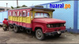 El carro mas antiguo de Palpa - Aucallama