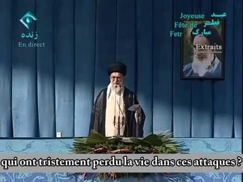 L'Iran répond à Obama, 29 Juillet 2014