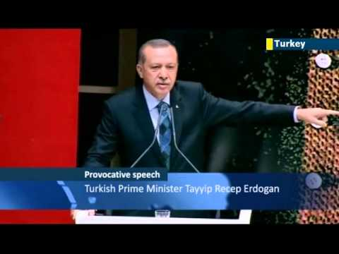 Ergodan blames Israel for Egypt Coup: Turkish PM says Israel was behind Mohammed Morsi ouster