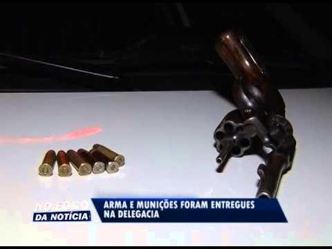 Denúncia anônima facilita apreensão de arma e munições no Cidade Verde