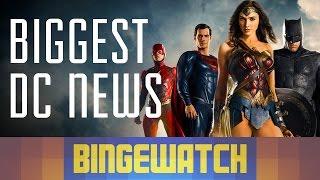 Wonder Woman, Justice League, and Suicide Squad - Comic-Con DC Trailer Roundup