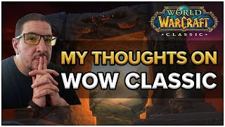 Thoughts on Classic WoW Announcement