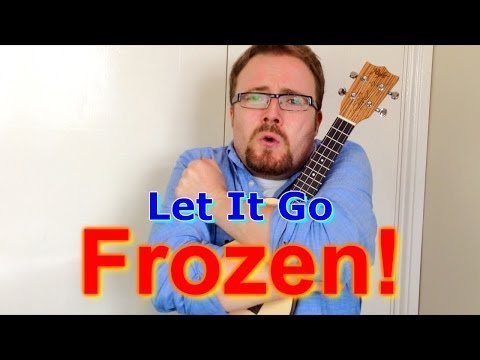 Let It Go - Frozen (Ukulele tutorial)