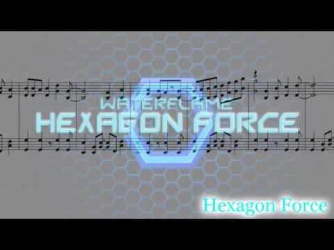 Waterflame - Hexagon Force (Piano.ver) sheet music