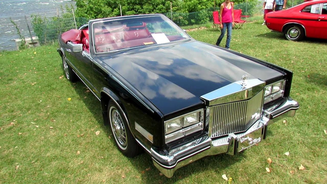 1985 Eldorado Biarritz >> 1985 Cadillac Eldorado Biarritz Exterior and Interior - Concours d'Elegance du Chambly, Quebec ...