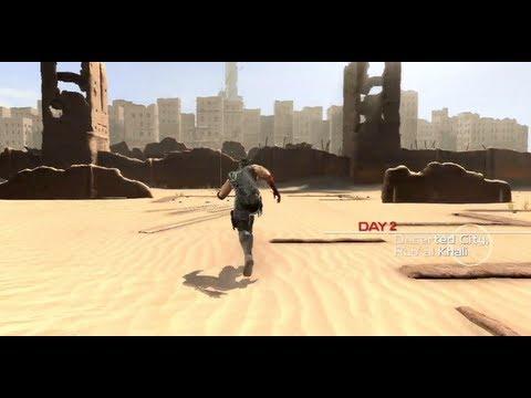 Ninja Gaiden 3 Razor's Edge Walkthrough - Day 2 Rub' al Khali Desert (PS3 HD 720p)