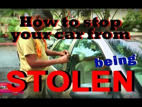 How to stop your car from being stolen |Car security gear lock|Grishi International
