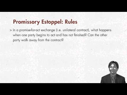 promissory estoppel Promissory estoppel can occur in pre-contractual negotiations – no need of pre-existing legal relationship promissory estoppel could be used to support a case of.