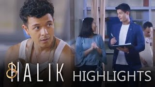 Halik: Lino stares at Jacky and Yohan in the office   EP 110