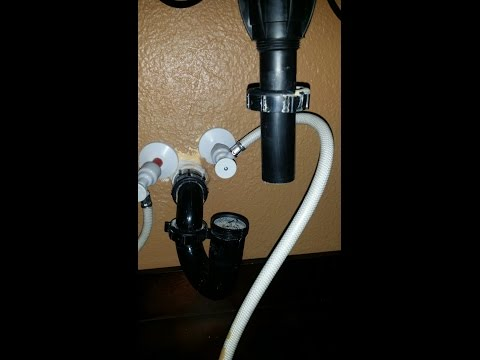 Remove/Replace FlowTite Plastic Valve Faucet with Sharkbite EASY!