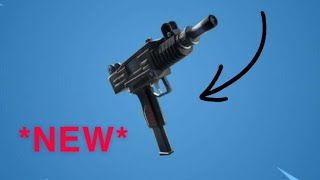 Fortnite *UNRELEASED* gun   Gameplay