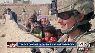 Violence continues as Afghanistan War Ends Jan 1