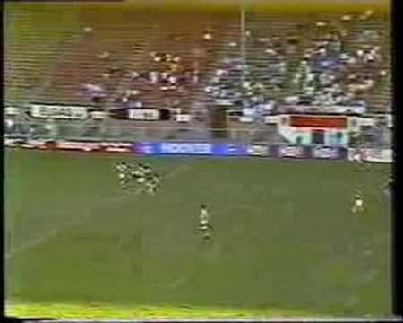 A great try by Wynnum/Manly fullback Colin Scott against Ipswich in 1987. Sensationally set up by Gene Miles.