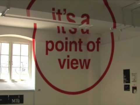 Thumbnail of video Anamorphic Typography