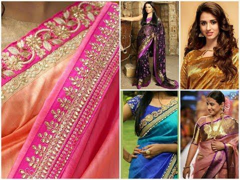 Bolly wood Celebrity Fashion Sarees,Blouses || Latest Celebrity Fashion Styles