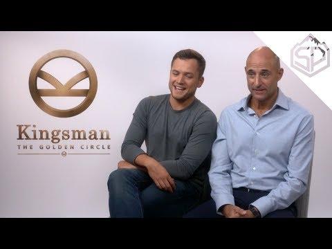 Интервью с актёрами Kingsman: Золотое кольцо
