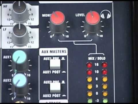 Tutorial: Standard Rack Control System - Soundcraft EPM8 Mixer