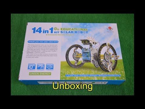 Solar Robot 14 in 1
