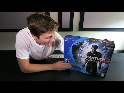 NEW PLAYSTATION 4 SLIM UNBOXING AND GIVEAWAY!