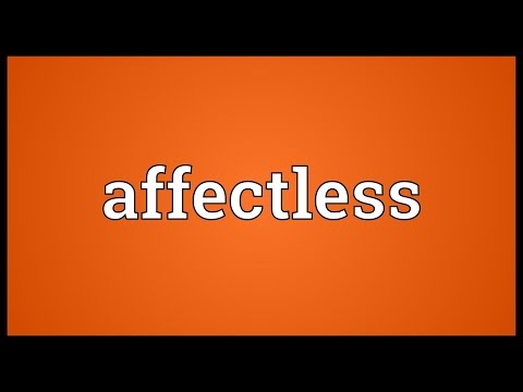 Header of Affectless