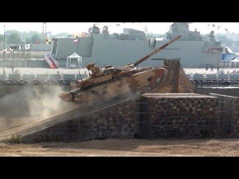 El tanque ruso T-90S y otras novedades de la feria de Abu Dabi