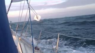 Zeiljacht Nordwind in nood