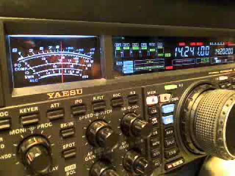 PD15XMAS in the Pileup on 20 meters 2-12-2015 video 1