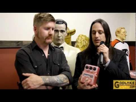 Mastodon Interview 2012 - Bill Kelliher Mastodon Gear Maxon AD999 Pro